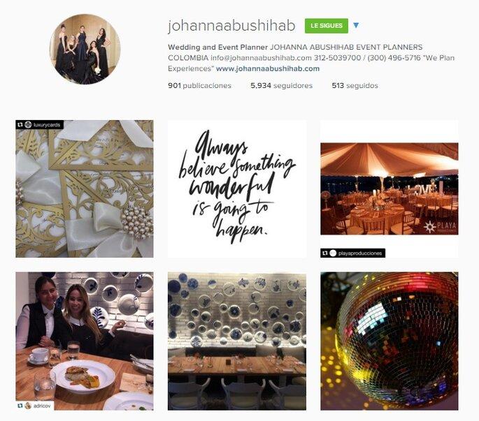 Imagen Vía Instagram Johanna Abushihab