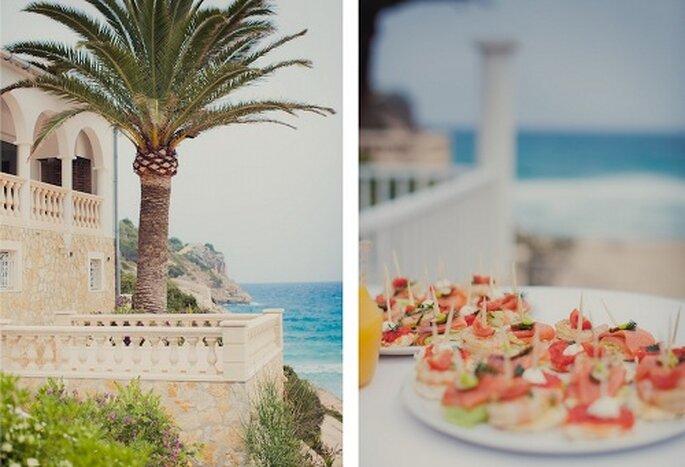 Hochzeit am Strand von Mallorca. Foto: Nadia Meli.