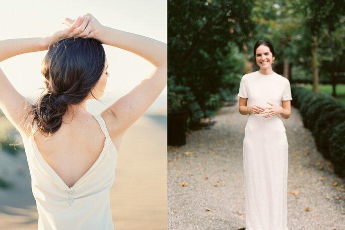 peinado novia minimalista