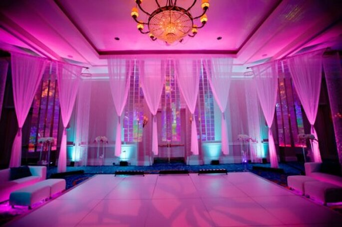 Iluminación y tendencias para el día de tu boda - Foto David Shwartz