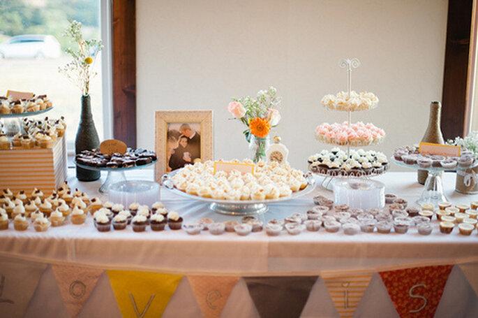 Sweet Table statt der Hochzeitstorte