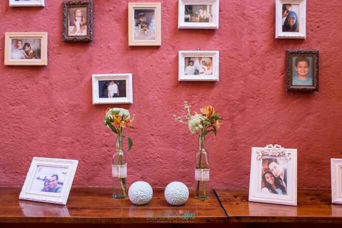 porta retratos casamento