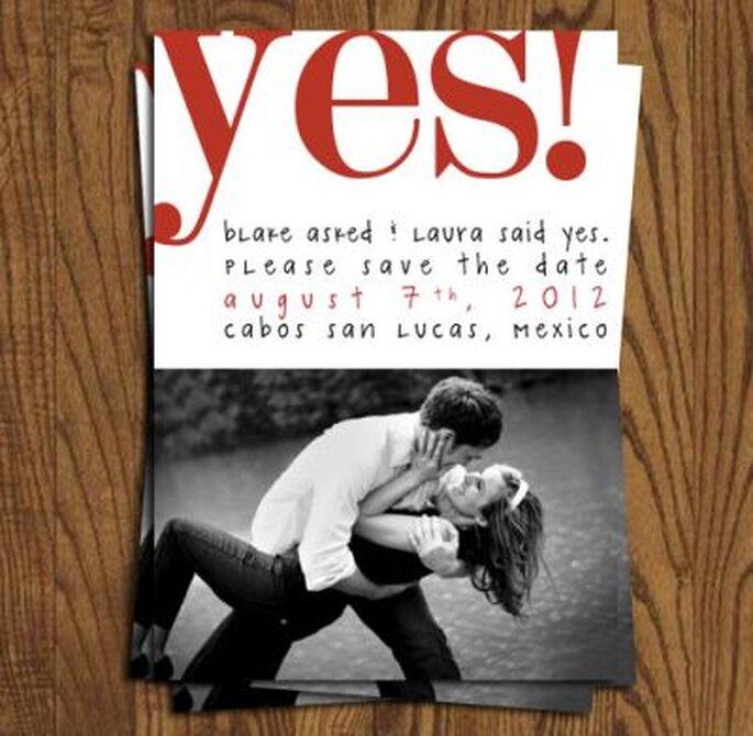 Hochzeit frühzeitig ankündigen – wann save the date karten