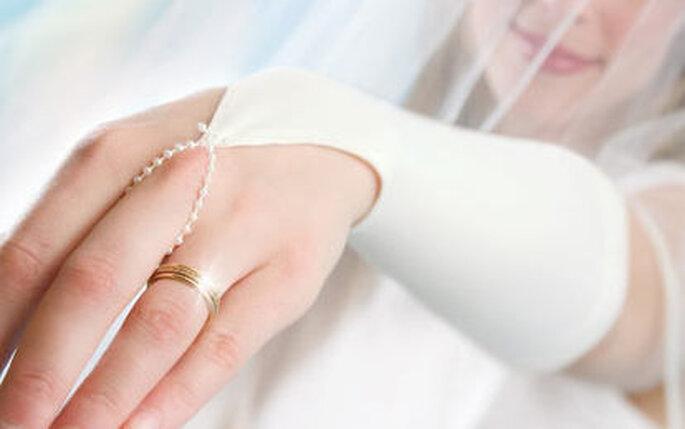 quite nice 39503 635e5 Guanti da sposa senza dita