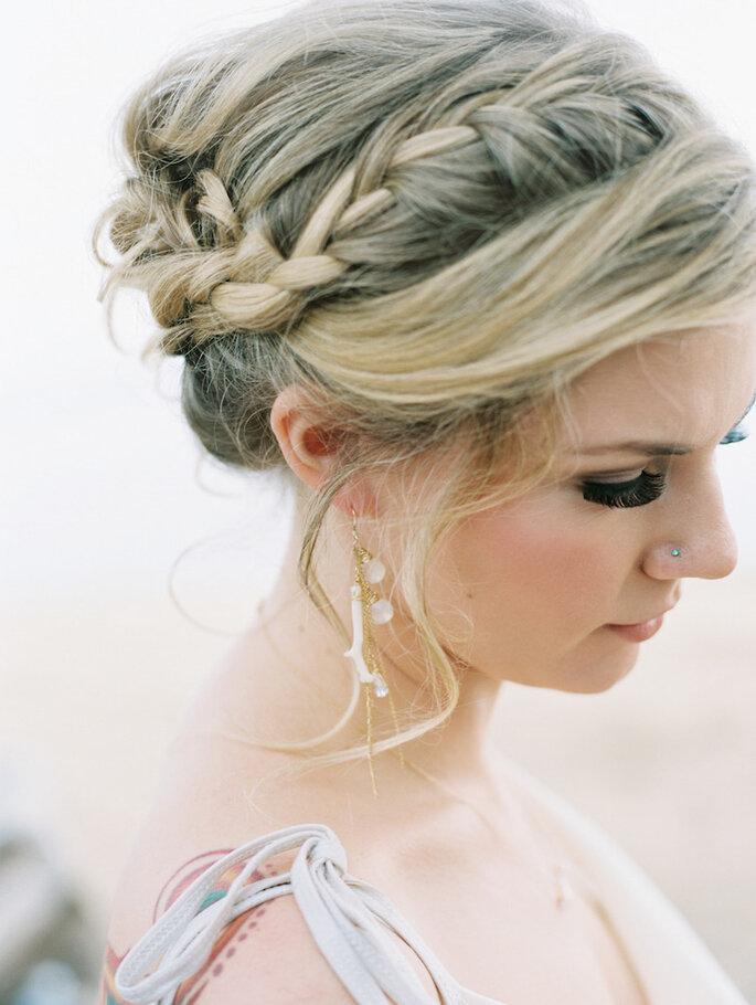 8 tendencias en belleza para novias que serán extraordinarias este 2015 - Wendy Laurel