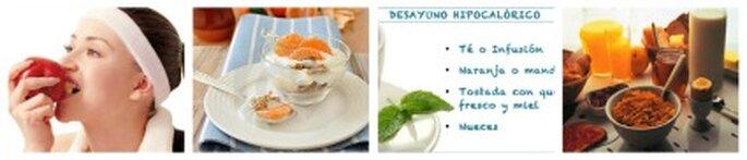 Desayuno nutritivo bajo en calorías