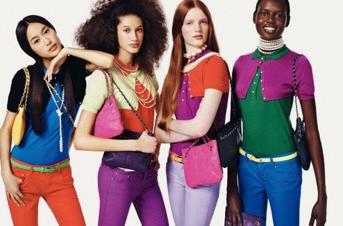 El color del vestido de acuerdo a tu tono de piel. Foto United Colors of Benetton
