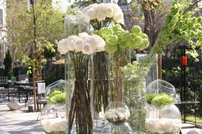 No descuides los arreglos florales para tu boda for Arreglos florales para boda en jardin