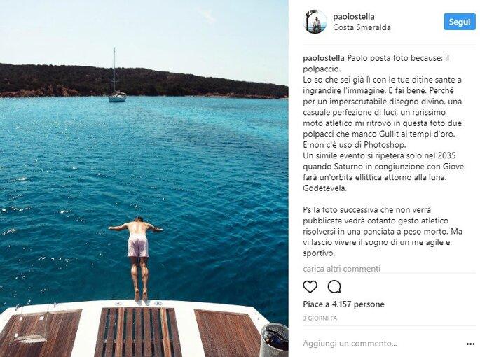 Foto via Instagram @paolostella