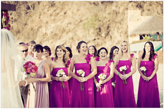 Vestidos para damas de boda en tendencia - Foto Jillian Mitchell