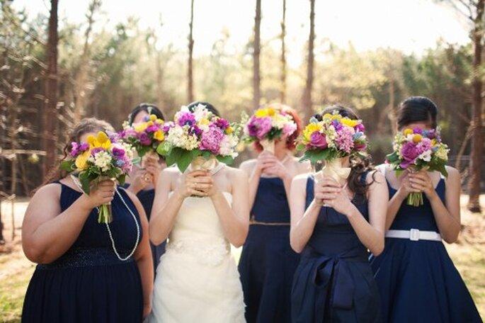 Regalos para el cortejo de boda - Foto Brett Arthur Weddings
