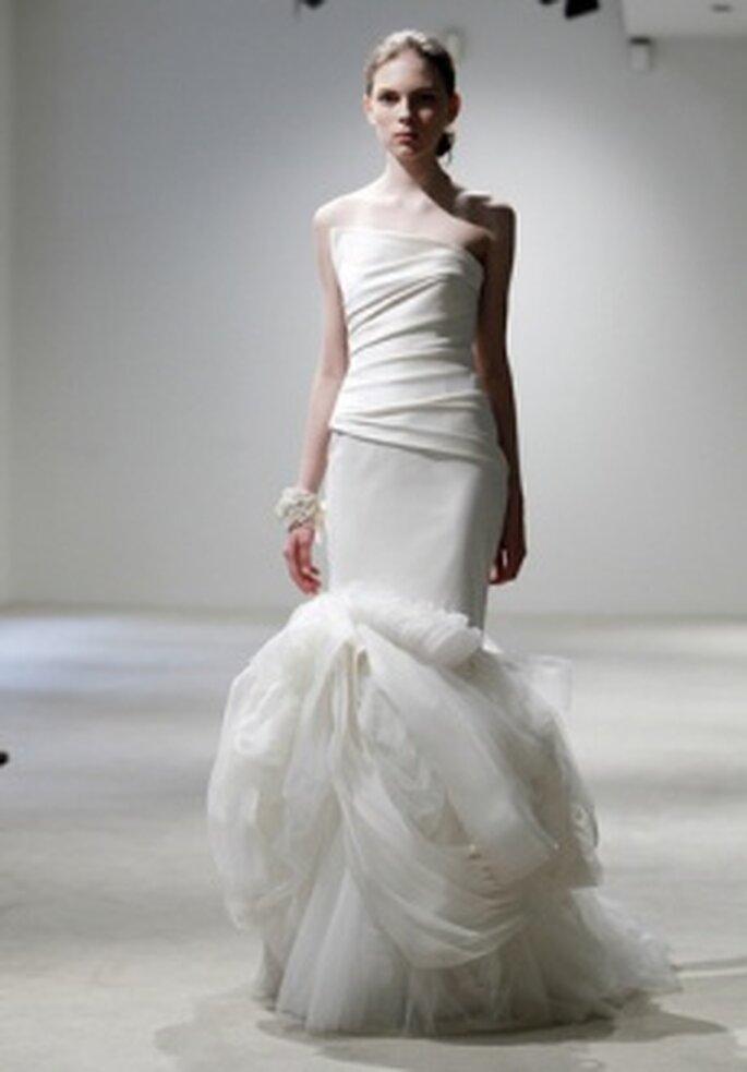 Vera Wang 2011 - Vestito in organza stile sirena