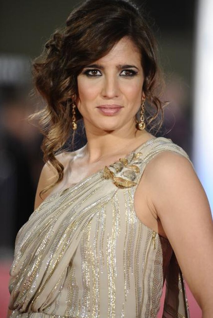 Lucía Jiménez Premios Goya 2012.