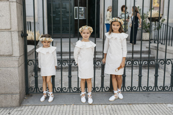 vestidos blancos niñas arras