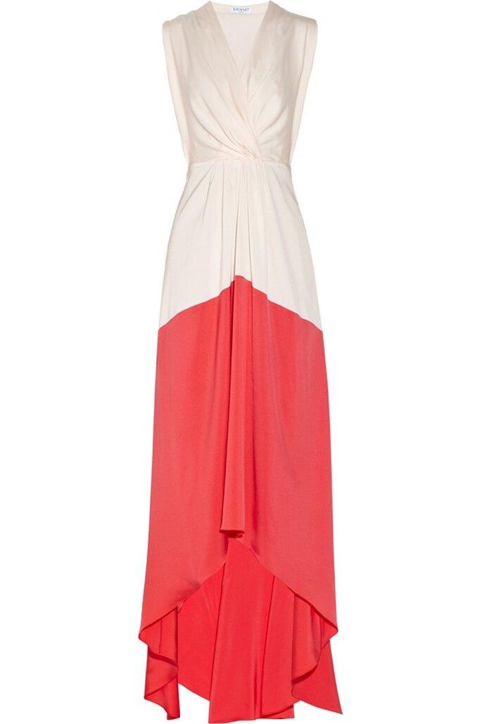 Vestido de fiesta con tendencia color blocking de Vionnet - Foto Net a Porter