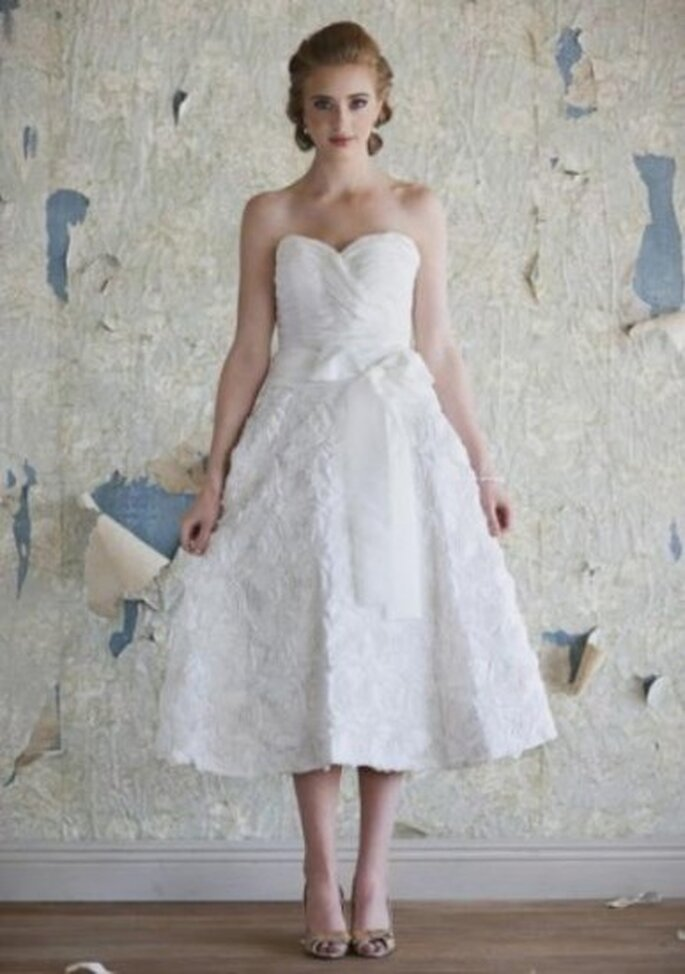 Vestidos de novia vintage. Foto de Ruche.com.