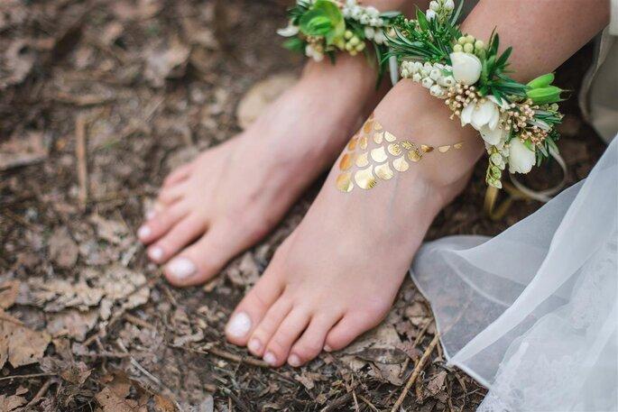 z corsage tornozelo Toni Larsen Photography