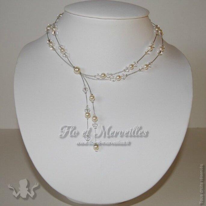 Pure merveille ce collier Joie pour votre mariage... - Photo : Flo et Merveilles