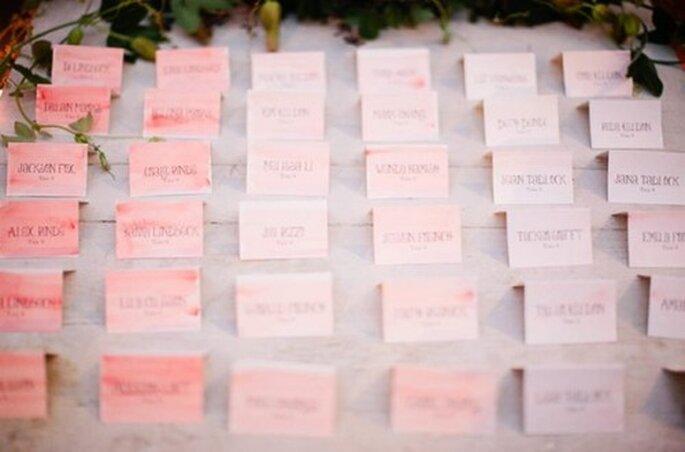 Elige los detalles que más te gusten en color rosa pastel - Foto Meg Perotti
