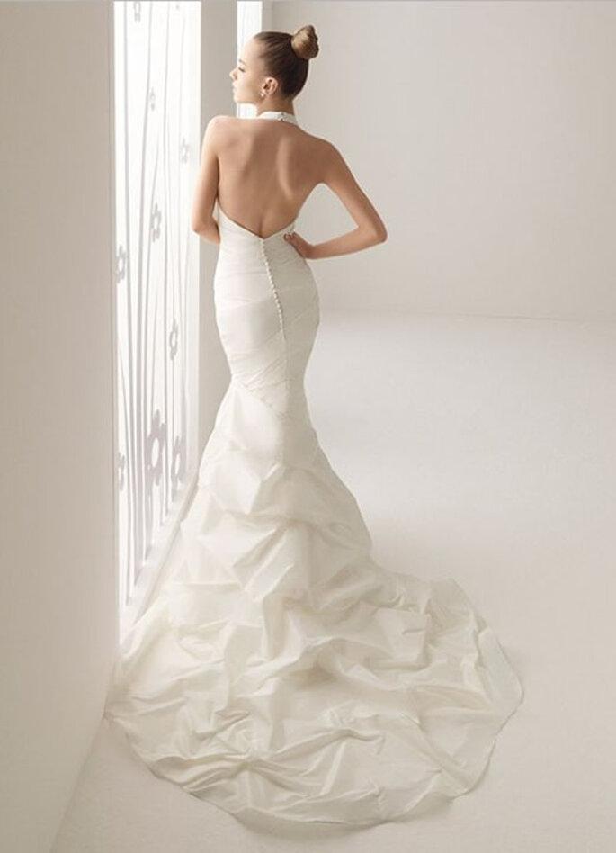 Propuesta de novia con cola