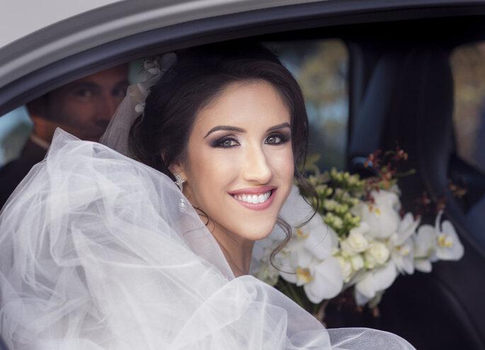 Noiva pré cerimônia