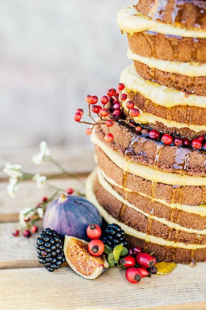 Naked Cake: Süß und Salzig, Foto: Angelika & Artur Pfeifer