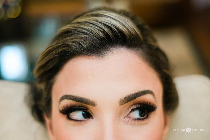 Maquiagem noiva olhos