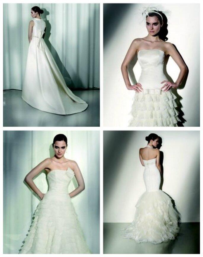 Wedding dress collection pronoviassposamanuel mota for Spanish wedding dress designer