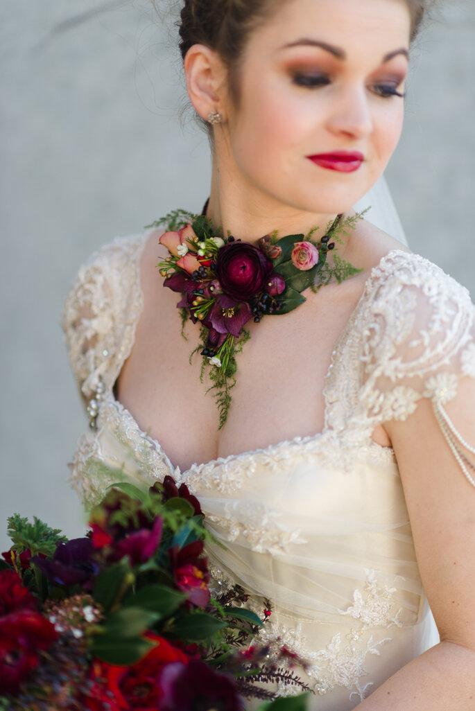 z corsage colar Natalie McNally Photography