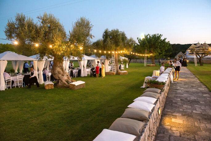 Una location per matrimoni in Puglia
