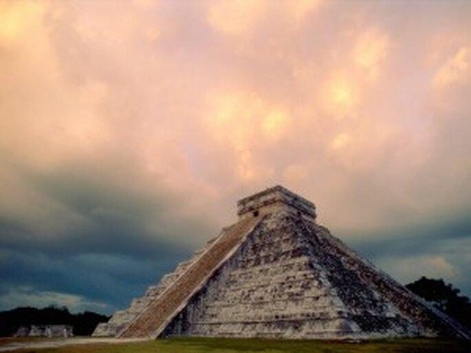 Chichén Itzá en Méjico...