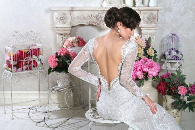Créatrice de robe de mariée à Lyon - robe dos nu