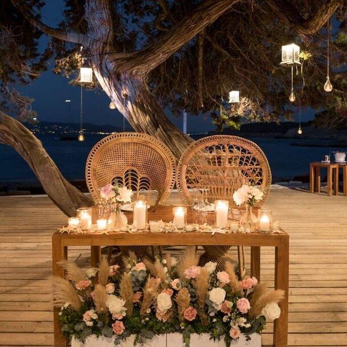 Cala Bassa Beach Club, Ibiza restaurante bodas Ibiza