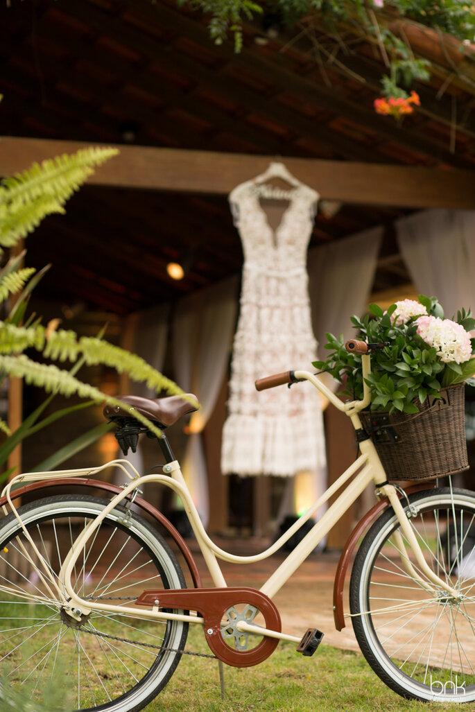 bicicleta vintage casamento
