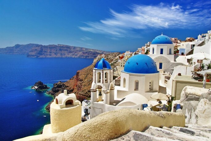 Belas paisagens gregas
