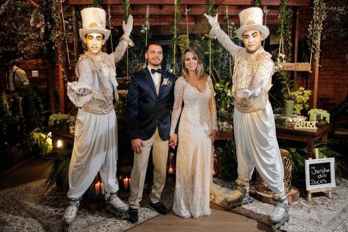 atrações de casamento