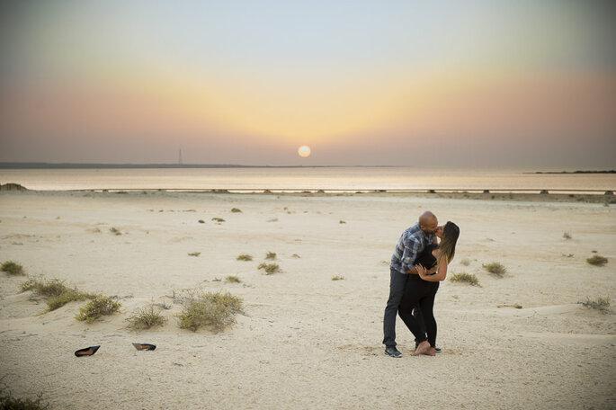 Ensaio pré wedding no Qatar