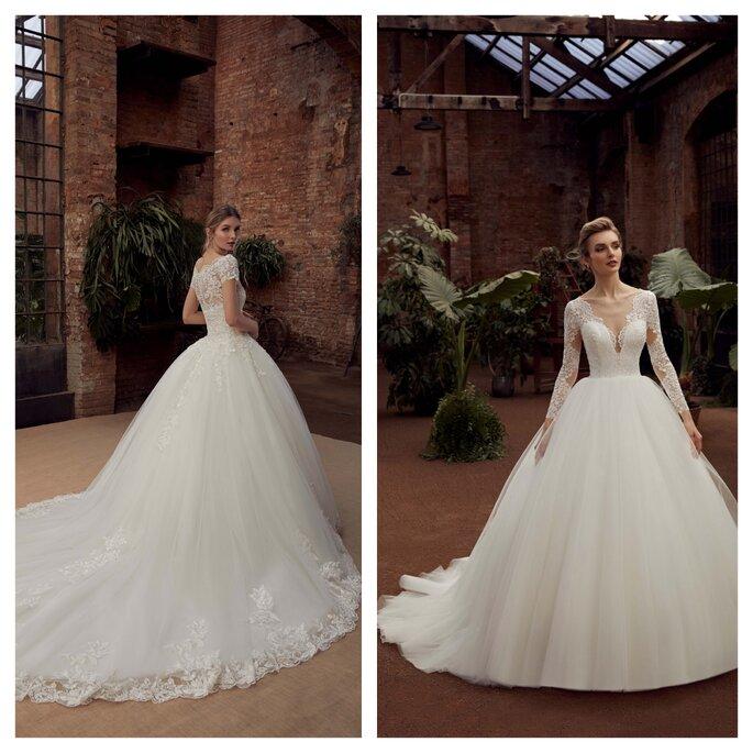 Robes de mariée avec du volume