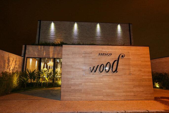 Fachada do Espaço Wood