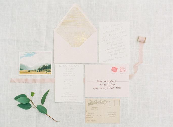 Los 9 mandamientos de las invitaciones de boda perfectas - Connie Dai Photography