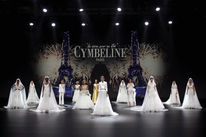 Défilé robes de mariée Cymbeline 2021
