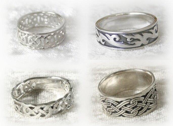Ringe mit keltischem Knoten von http://Silbergeist.eu/