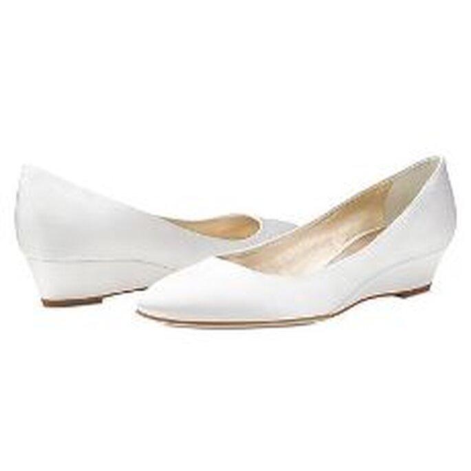 Vera Wang 2010 - Zapatos en satén en cuña