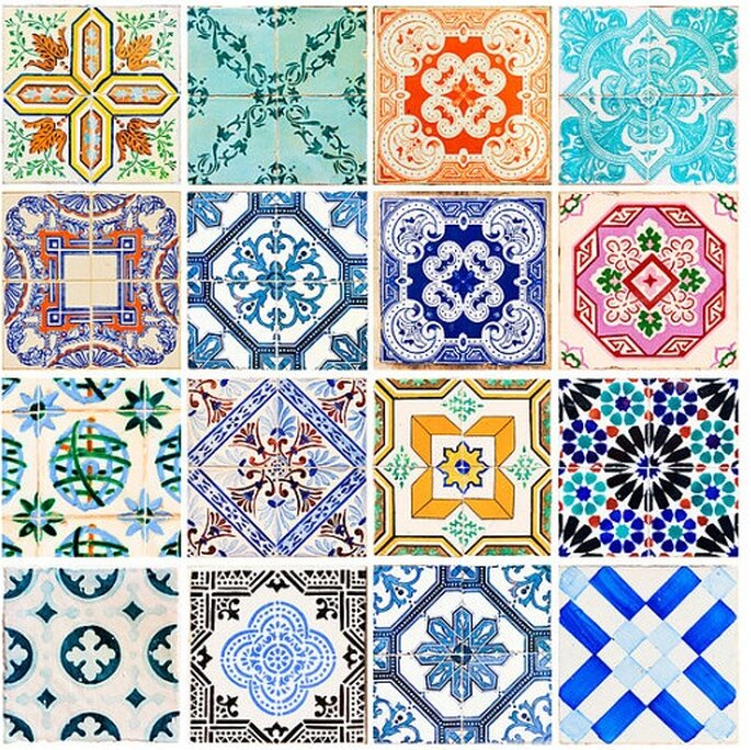 Photo : Etsy - Stickers Azulejos