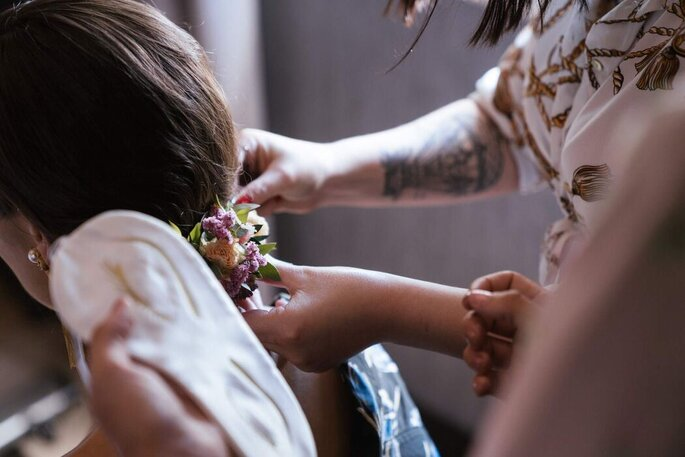 Penteado por Andreia Pereira Makeup and Hair