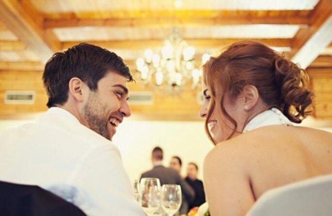 Recien casados disfrutando la boda - Foto Attitude Fotografia