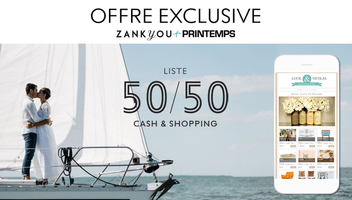Offre exclusive Zankyou + Printemps