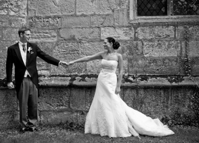 Vestidos de novia con escote palabra de honor 2009