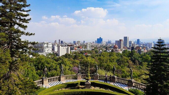 parque de chaputepec en ciudad de mexico