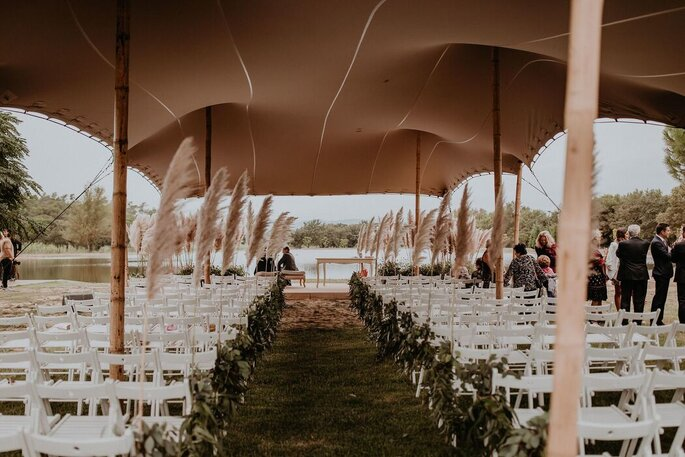 Isla de Gracia, masía para bodas en Tarragona
